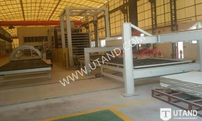 Quartz slab polishing line manufacturer