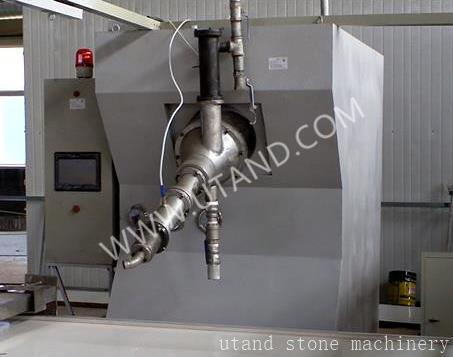 Solid surface casting machine