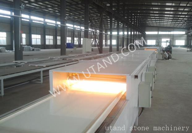 Solid surface production line Heating tunnel