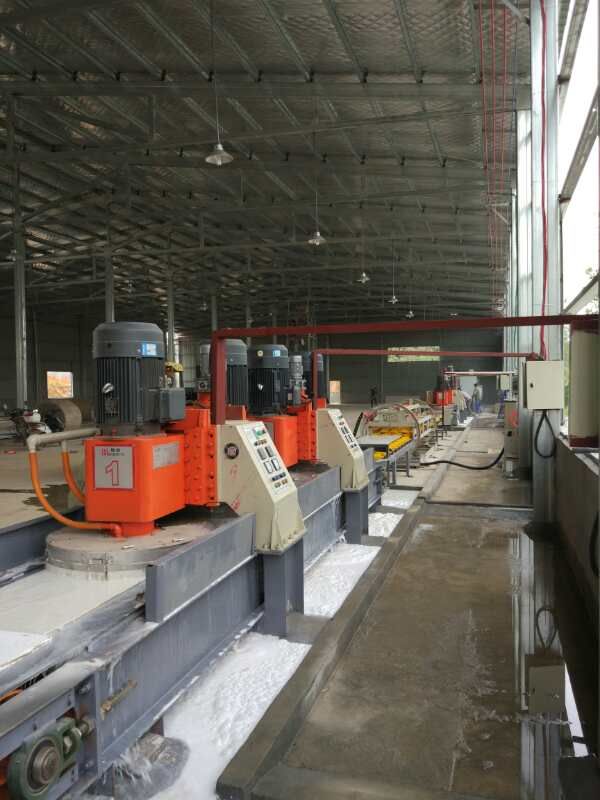 artificial quartz stone production line machinery