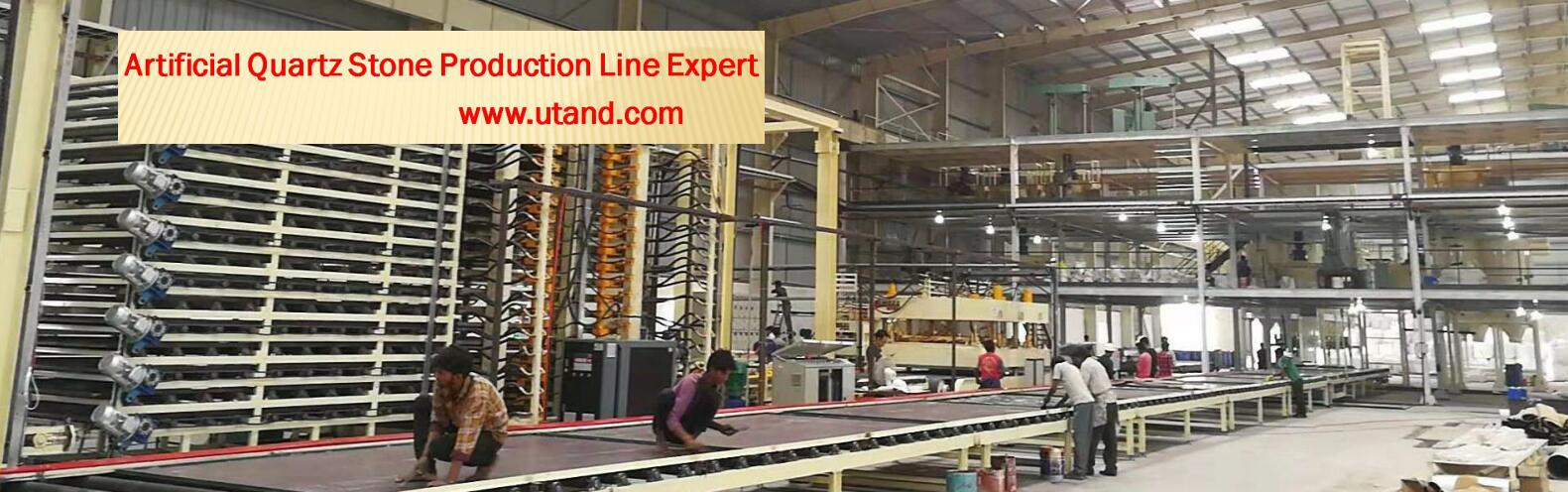 Utand stone machinery banner