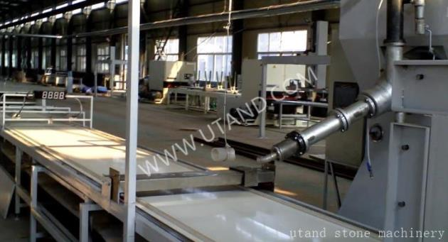 solid surface production line case