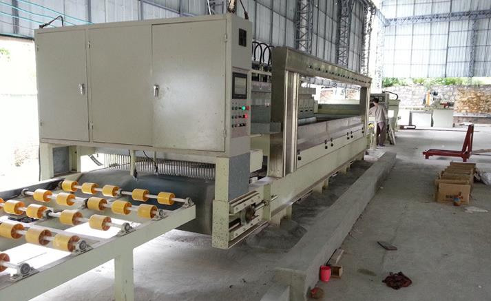 16 heads continuous polishing machine