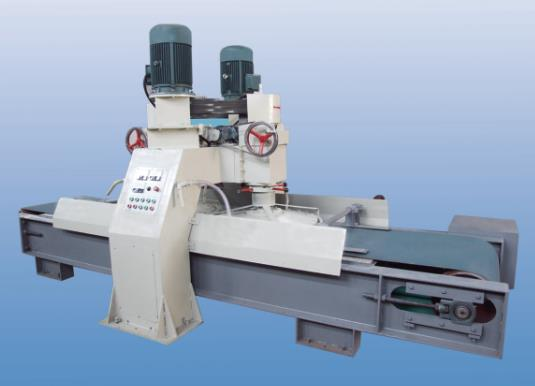 Double head stone calibration machine