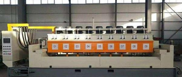 Multi-heads Automatic Contimuous Stone Polishing Machine