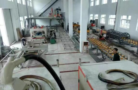 engineered quartz slab production line