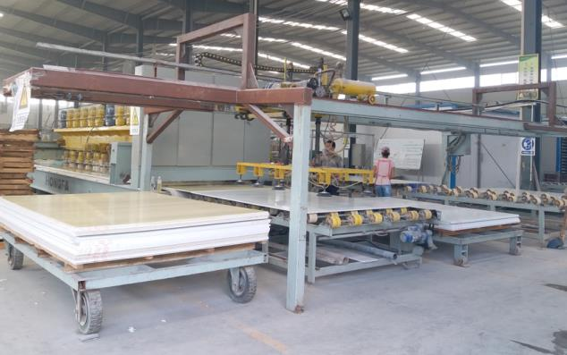 manufacturing process of artificial stone