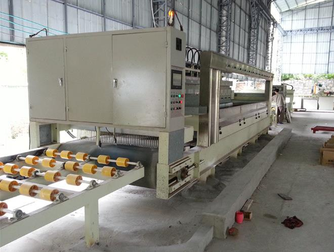 quartz stone slabs polishing machine
