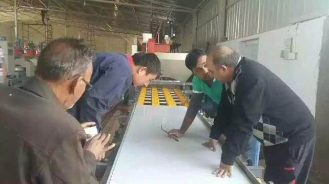 quartz surface slab production machine