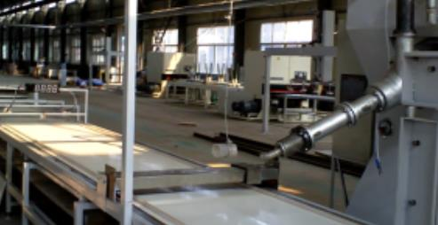 solid surface manufacturing plant process
