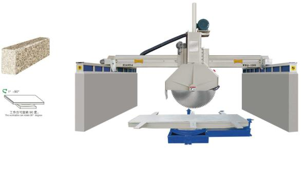 stone cutting and polishing machine