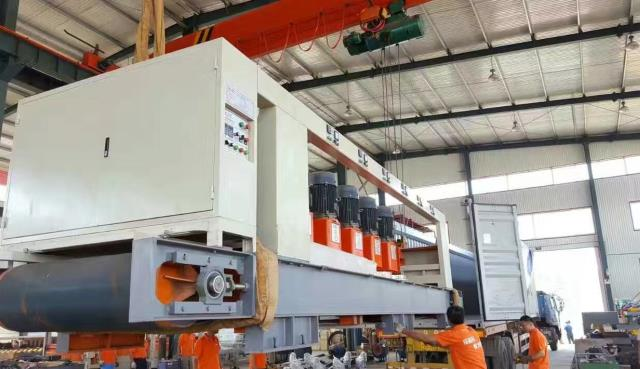 stone slab polishing machine