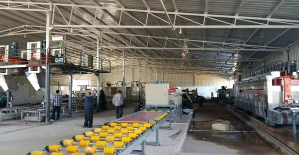automatic artificial stone production line