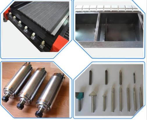 Laser stone Engraving Machine parts