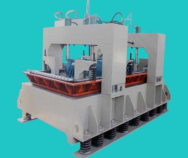 Artificial stone making machine