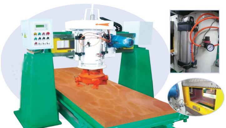 bridge Polishing Machine parts