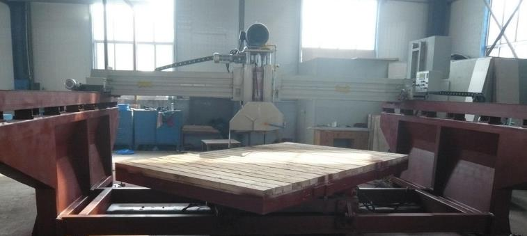 bridge cutting machine tilting