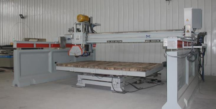 bridge cutting machine working