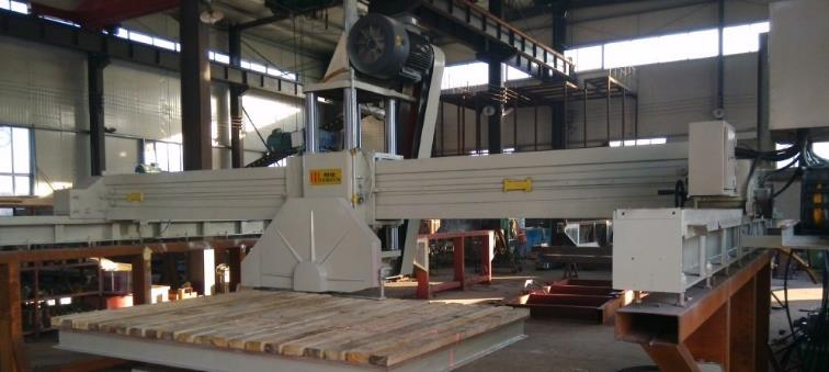 cnc stone cutting machine in factory photo
