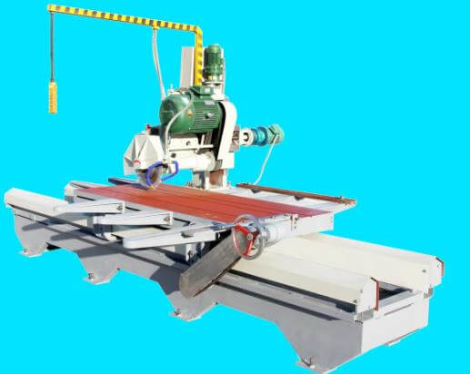 stone edge cutting machine design