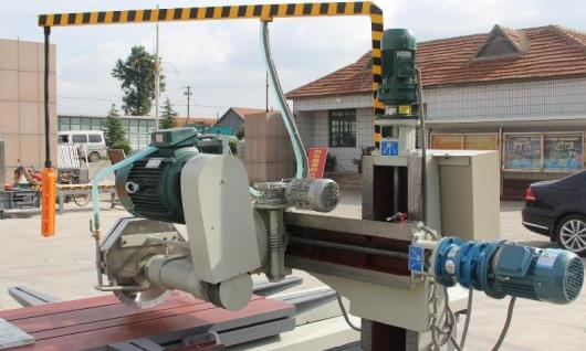 stone edge cutting machine part
